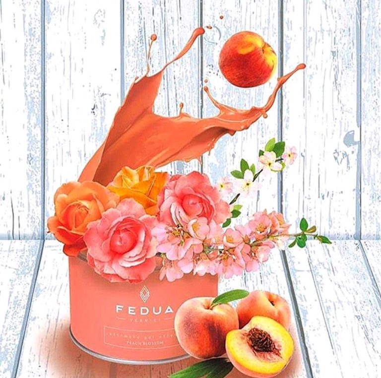 Peach blossom - лак от Fedua